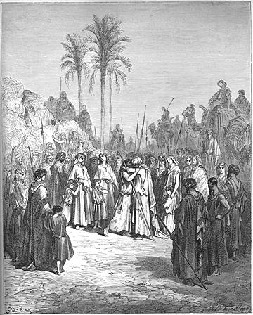 Jacob and Esau Meet