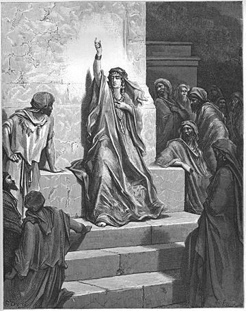 Deborah Praises Jael