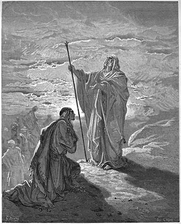 Samuel Blesses Saul