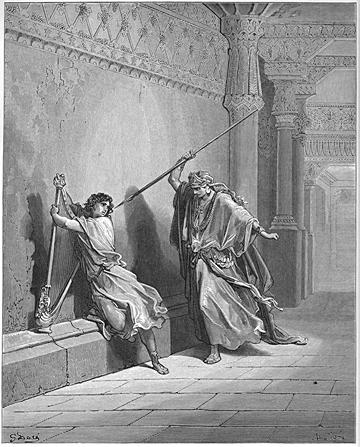 Saul Attempts to Kill David