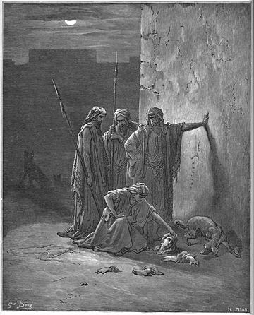 Jehu's Companions Find Jezebel's Remains