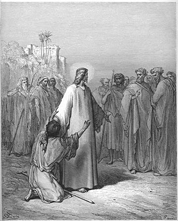 Jesus Heals a Demoniac