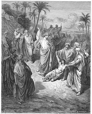 Jesus Heals the Epileptic Demoniac