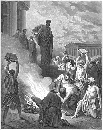 Paul Preaches at Ephesus